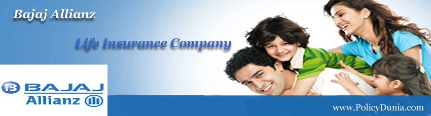 Bajaj Allianz Life Insurance Company Profile Policy Products
