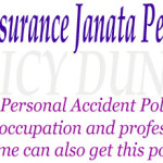 National Insurance Janata Personal Accident Policy