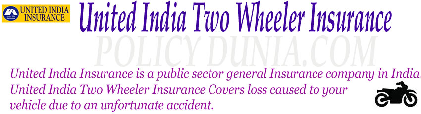 United India Two wheeler insurance image