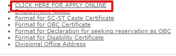 LIC INDIA apply online option