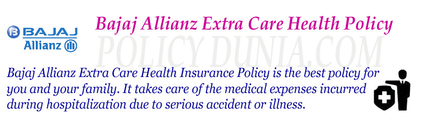 Bajaj Allianz Extra Care image