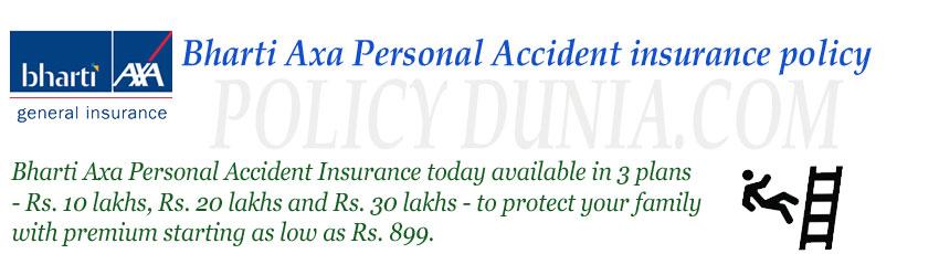 Bharthi-Axa-personal-Accide