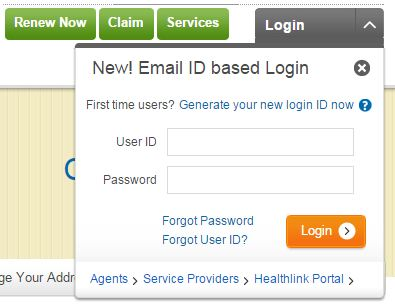 Max bupa health insurance login