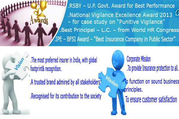 United India Insurance Vision Mision Image