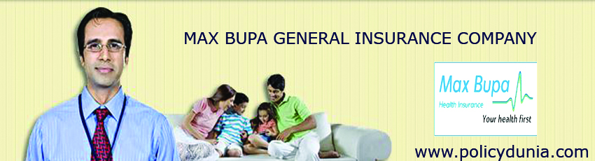 max bupa general insurance company image