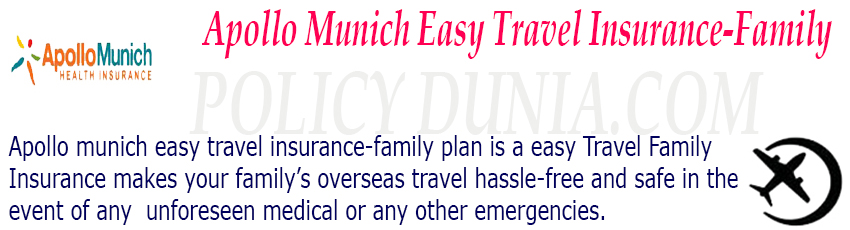Apollo munich easy travel insurance-family image