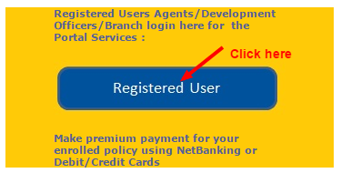 LIC policy status Registered user image