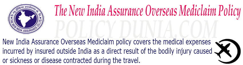 New India Assurance Overseas Mediclaim Policy image