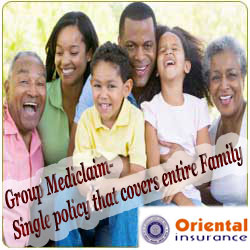 Oriental Group Mediclaim Intro image