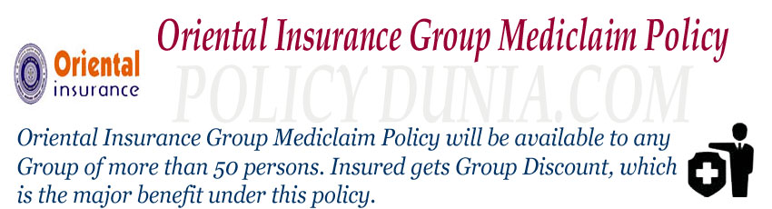 Oriental Insurance Group Mediclaim Image