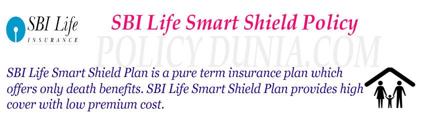 SBI Life Smart Shield Policy Image