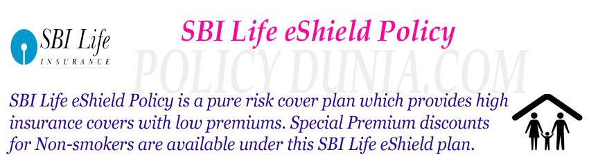 SBI Life eshield policy image