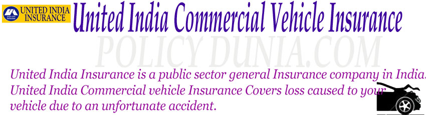 United India Commercial vehicle Insurance image