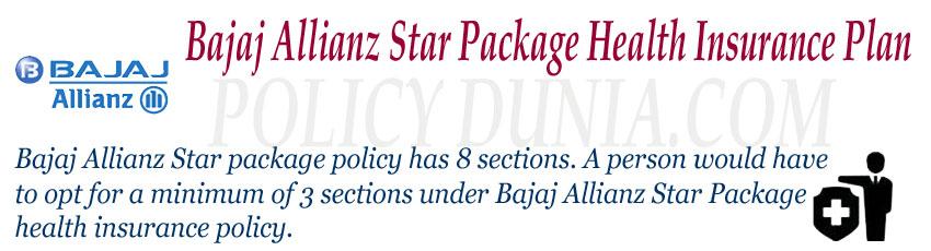 bajaj allianz star package image