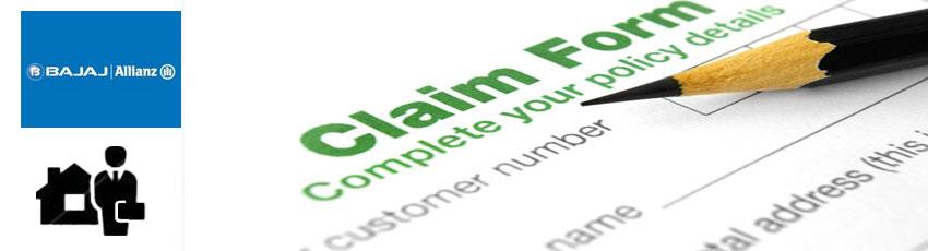bajaj allianz home insurance claim form image