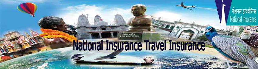 National Insurance travel insurance image