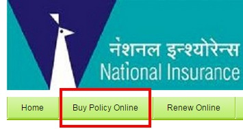 National Insurance Buy Policy Online