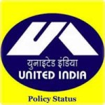 United India Insurance Policy Status
