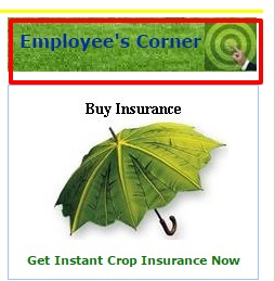 Agriculture Employee Login