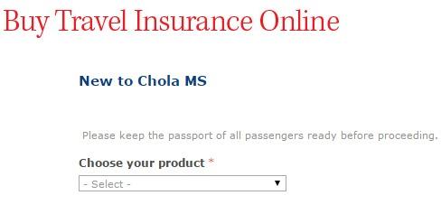 Chola MS student Travel