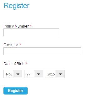 Cigna TTK Register Page