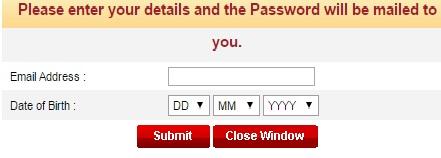 ICICI Lombard Forgot Password