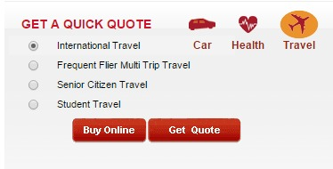 ICICI Lombard Travel Insurance get quote