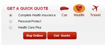 ICICI Lombard health get quote