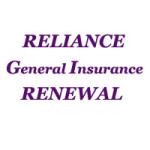 Reliance General Insurance Renewal