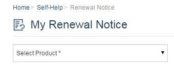 Renewal Notice Remainder for Insurance Policy Reliance