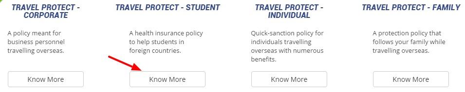 Star Health Insurance travel plans