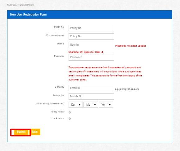 Bajaj Allianz Life Insurance Login | Steps for New User Login