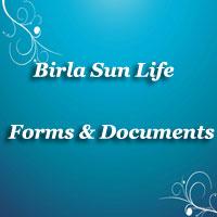 Birla Sun Life Insurance Forms | Claim form, Application form