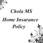 Chola MS Home Insurance policy