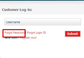 Exide Life Insurance forgot password option