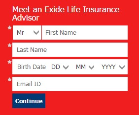 Exide Life buy policy online