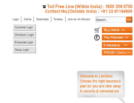 Indiafirst login option1