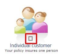 Kotak Individual Customer option