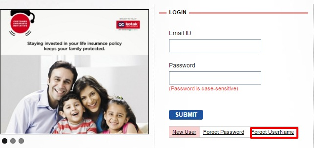 Kotak Life Insurance Login | New User Registration Steps