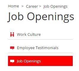 Magma HDI Job openings page