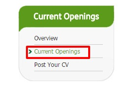 Religare Current openings option