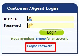 Shriram Life Insurance forgot password option