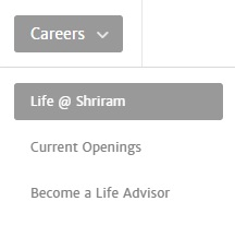 Shriram life career options