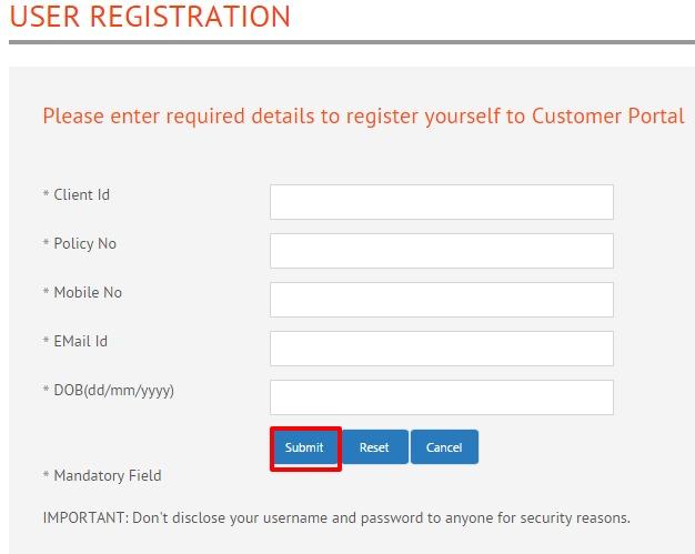 Star Union Dai Ichi Life Insurance UserRegistration