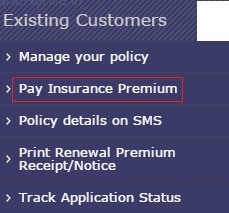 Canara HSBC OBC Life Insurance Online Payment Process
