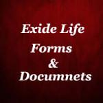 Exide Life Insurance Forms