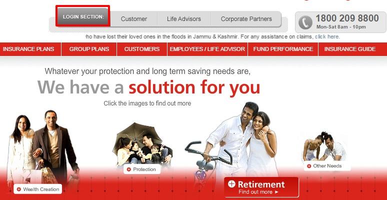 kotak life insurance login option1